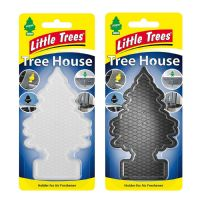 LITTLE TREES MAGIC TREE HOUSE CAR HOME AIR FRESHENER ADHESIVE CASE COVER HOLDER